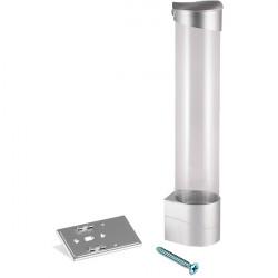 Держатель для стаканов (белый/серебро, шурупы)