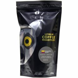 Кофе в зернах Decaf - 250 грамм,   Lemur Coffee Roasters Эспрессо Колумбия