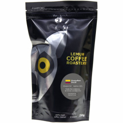 Молотый кофе Decaf - 250 грамм Lemur Coffee  Roasters Эспрессо   Колумбия
